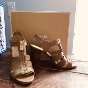Michael Kors tan beige high heel heeled sandals (originally $119.95) for Sale in Vancouver, WA