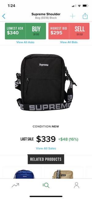 supreme shoulder bag ss18 black for Sale in Chino Hills, CA