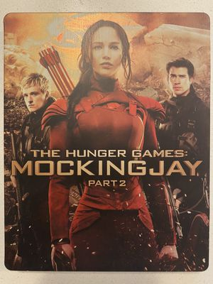 Hunger Games: Mockingjay P2 Bluray Dvd Steelbook for Sale in Aurora, CO