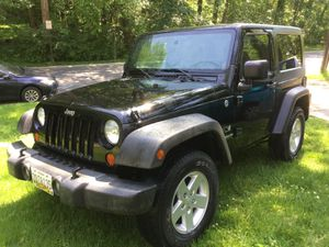2009 Jeep Wrangler 2door 4x4 for Sale in Hyattsville, MD