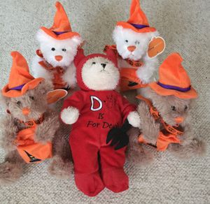 Plush Halloween Animals (5) for Sale in Missouri City, TX