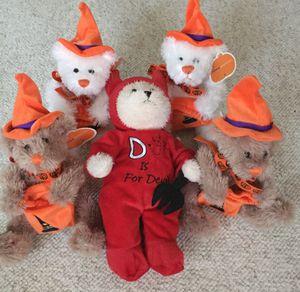 Plush Halloween Animals (5) for Sale in Missouri City, TX