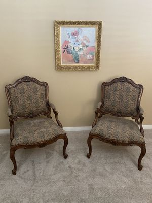 Drexel Heritage Armchairs (pair of 2) for Sale in Rancho Cucamonga, CA