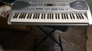 Casio keyboard and stand for Sale in Floral Park, NY