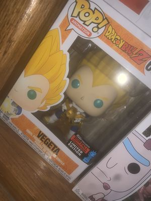 Vegeta nycc funko pop for Sale in Los Angeles, CA