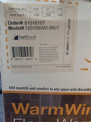 SunTouch Warm Wire Kit for Sale in Virginia Beach, VA