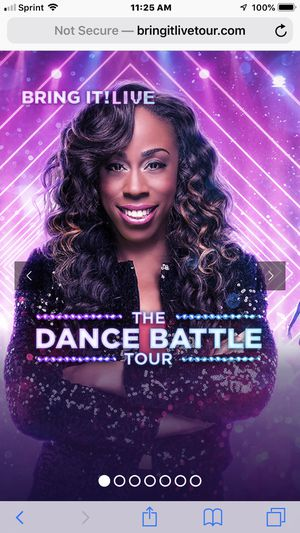 2 Tickets to the Bring it Live show with the dancing dolls in Brooklyn NY on July 14 for Sale in Milton, MA
