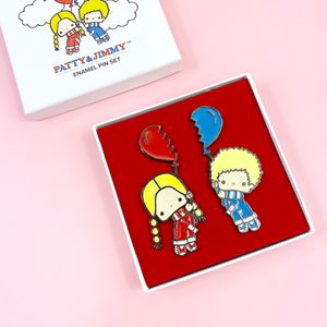 Sanrio Patty & Jimmy Enamel Pins Lootcrate Hello Kitty for Sale in Irvine, CA