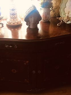 Louis XV Large Antique Curio/Armoire /Buffet / Credenza/ Cabinet Luxury Pieces for Sale in Los Angeles,  CA