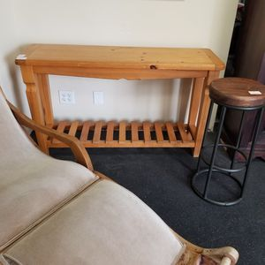 Pine rustic console table. Now reduced to $99 for Sale in La Mesa, CA