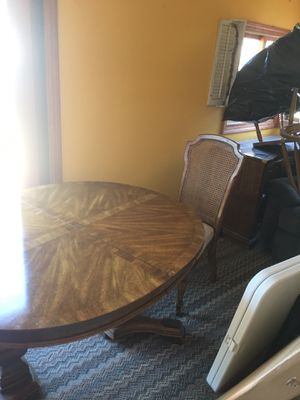 Table and four chairs I do have two leaves for the table and pads for Sale in TN OF TONA, NY