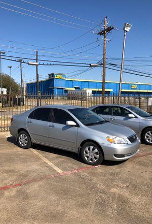 2007 Toyota Corolla - 4,000 $ cash Clean Title for Sale in Dallas, TX