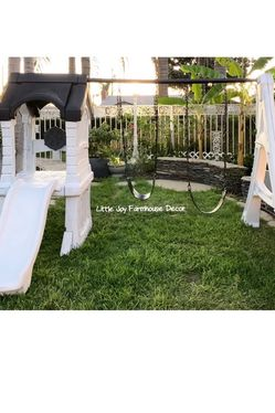 Outdoor Backyard Kids Playground Swings With Slide for Sale in West Covina,  CA