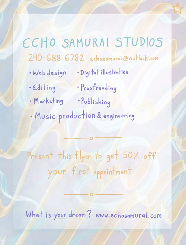 Echo Samurai Studios in Gaithersburg, MD