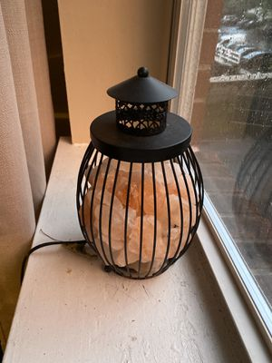 Salt lamp for Sale in Norwalk, CT