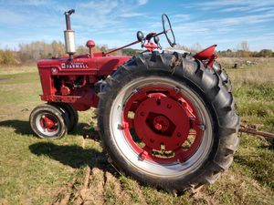 Farmall tractor. With disc. for Sale in Chisago City, MN