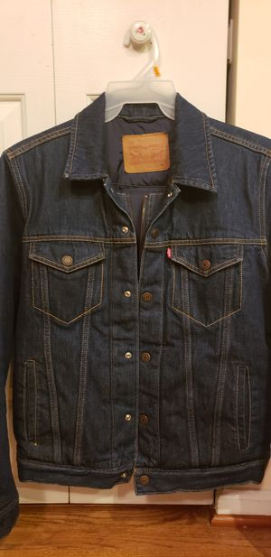 Levi vintage down lined trucker style jacket for Sale in Rockville, MD