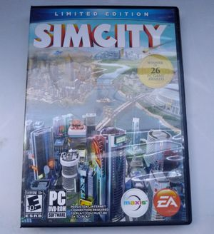 Sim City 4 Deluxe Edition PC Windows for Sale in San Diego, CA
