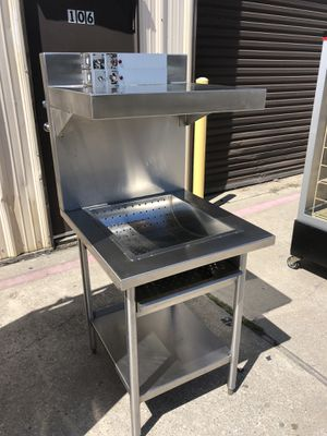 Hardly Used‼️ Hatco All Stainless Electric Fry Warming Dump Station Table Stand 115v, Clean ✨ for Sale in Dallas, TX