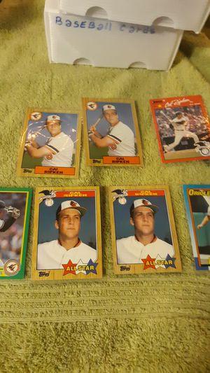 Slot of 7 Cal Ripken baseball cards for Sale in Riverside, IL