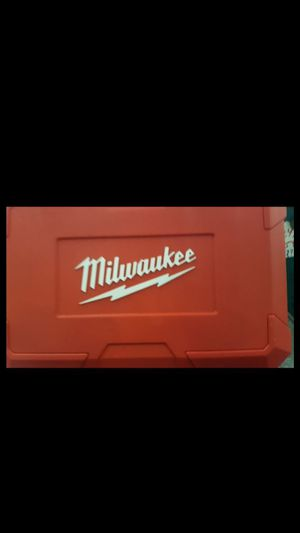 Milwaukee Hard Case for Bandsaw for Sale in Houston, TX