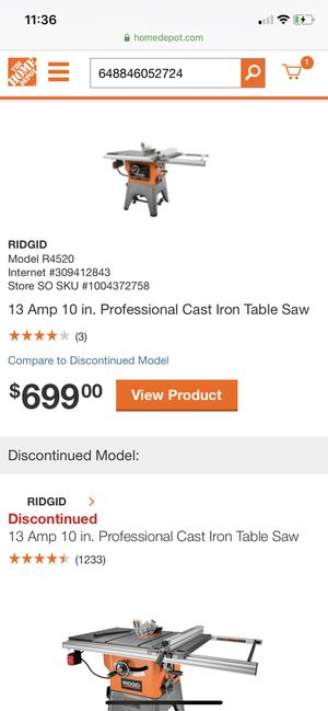 Table Saw for Sale in North Miami Beach, FL