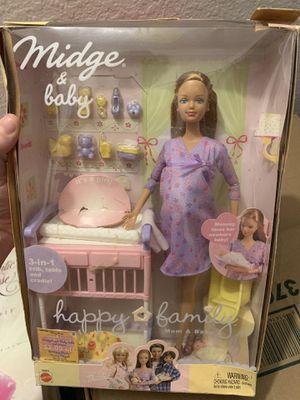Midge & Baby-Happy Family Barbie for Sale in Phoenix, AZ