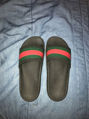 Gucci Sandals Black and Red Size 9~10 for Sale in West Covina, CA