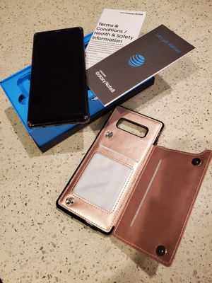 Samsung Galaxy Note 8 with case for Sale in St. Cloud, FL