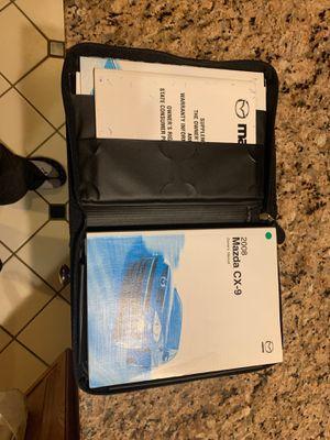 Mazda Cx9 Manual for Sale in Leesburg, VA