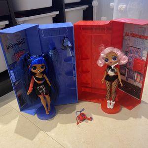 2 Big LOL Dolls with Storage Box for Sale in Miami, FL