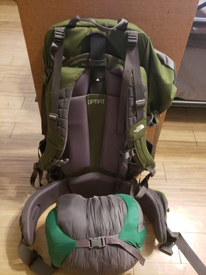 North Face Terra 65 Hiking Bag for Sale in Naugatuck, CT