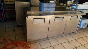 True refrigerator 72 long for pizza condiments for Sale in Alexandria, VA