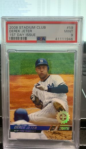 Derek Jeter rare PSA baseball card for Sale in West Valley City, UT