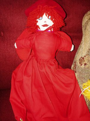 3 face doll - little red riding hood for Sale in Alexandria, VA