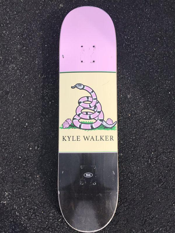 Real Skateboards Skate Deck