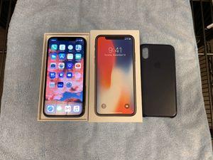 iPhone X 64GB Unlocked GSM + CDMA for Sale in Hamilton Township, NJ
