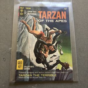 Gold key April 1967 Edgar Rice Burroughs Tarzan of the apes comic book for Sale in Seattle, WA