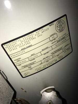40 gal Gas water heater for Sale in Spring Hill, FL