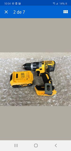 New DEWALT DCD796 XR Brushless Hammer Drill With 4.0ah XR Battery. for Sale in Dumfries, VA