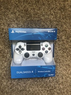 PS4 controller white playstation 4 controller white for Sale in Plainview, NY