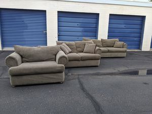 Three Piece Living Room Set 6 Months Same As Cash for Sale in Mesa, AZ