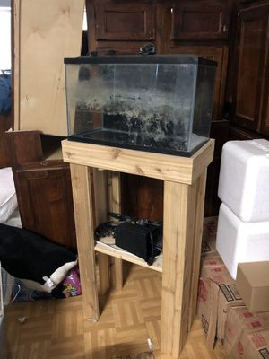 Fish tank with stand for Sale in San Antonio, TX