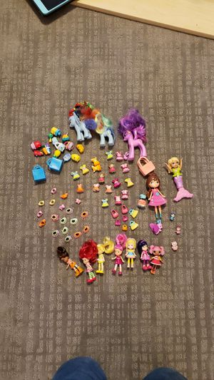 Strawberry Shortcake dolls/clothes, My Little Pony, Shopkins, etc. for Sale in Missoula, MT