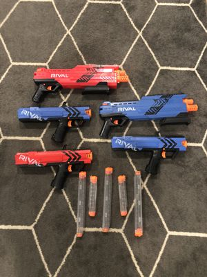 Nerf rival guns for Sale in Houston, TX