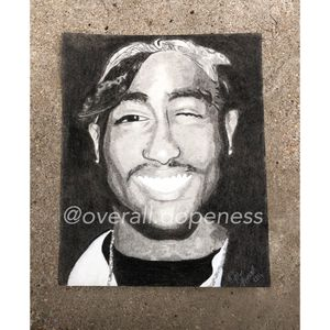 2Pac Charcoal Portrait for Sale in St. Louis, MO