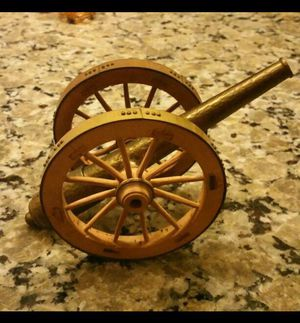 Antique Mini Brass Handheld Cannon Works for Sale