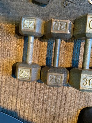 Variety of dumbbells sizes for Sale in Vernon, CA