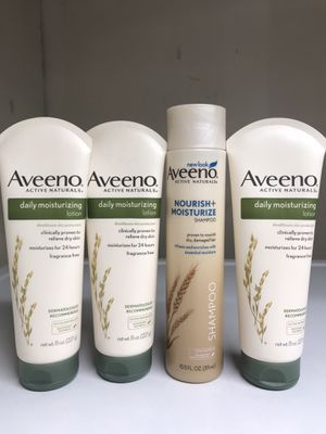 AVEENO LOTION SHAMPOO BUNDLE for Sale in Torrance, CA