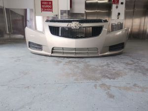 As Seen Used Front Bumper Cover Parrachoque Defensa Fits 11 12 13 14 Chevrolet Cruze LS LT for Sale in Hialeah, FL